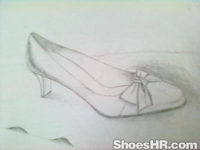 妹妹咻狠_简单的素描,咻--中国鞋业设计师网