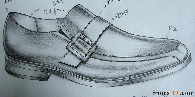 我的手稿,郭伟--鞋业设计师网图片