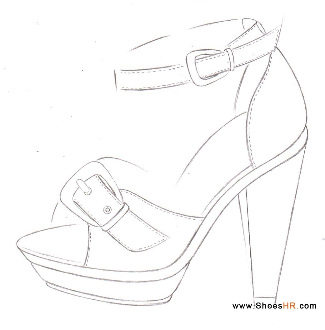 外增高凉鞋,胡歌田--中国鞋业设计师网