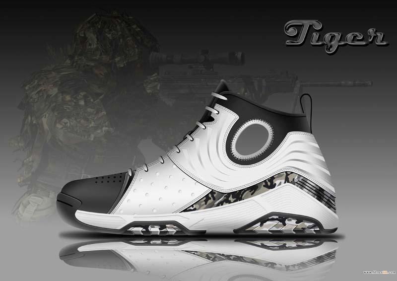 篮球鞋设计