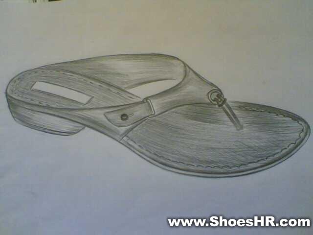素描,向阳--鞋业设计师网