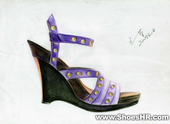 手稿,王一荣--鞋业设计师网