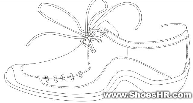 手绘图,刘武清--中国鞋业设计师网
