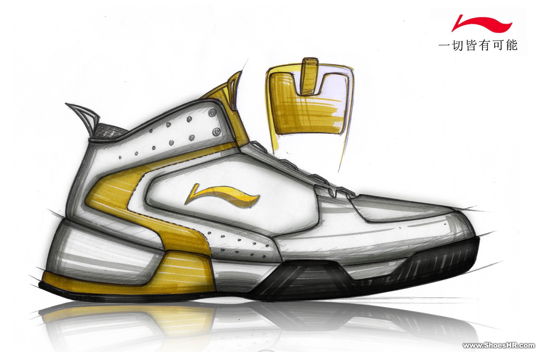 篮球鞋设计,刘天贵--中国鞋业设计师网