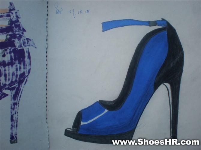马克笔系列3,朱建龙--中国鞋业设计师网