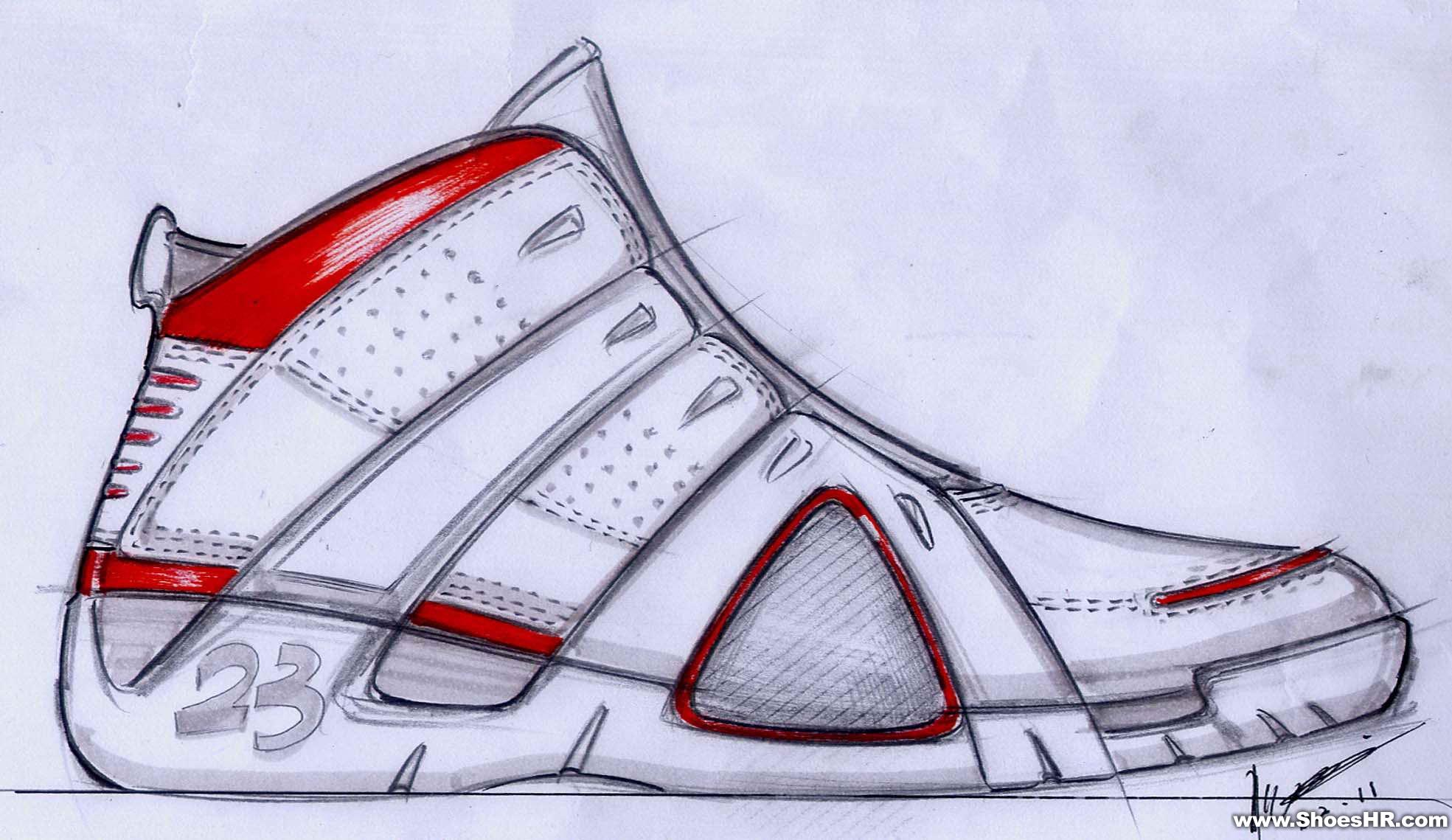 手稿7,邓凌云--鞋业设计师网图片