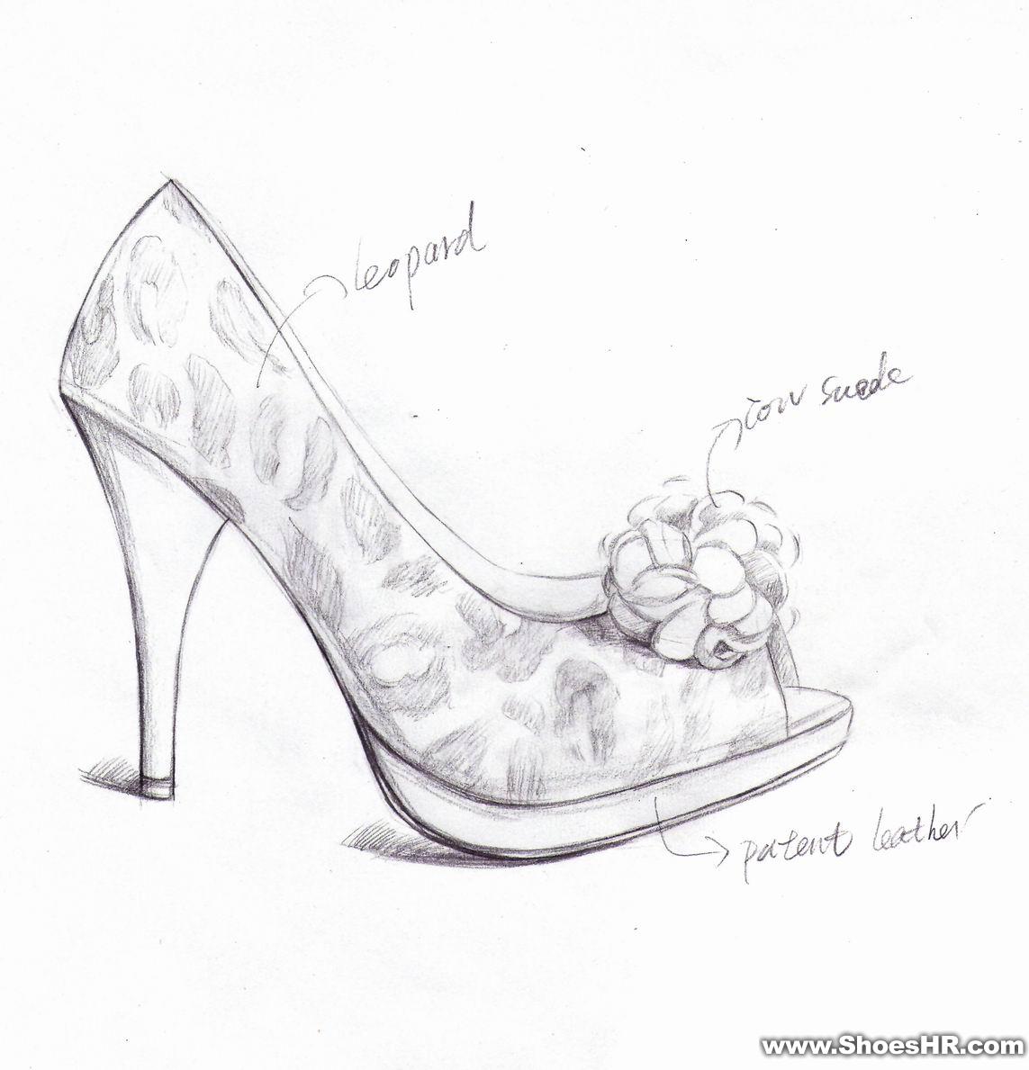 效果图,唐莉--中国鞋业设计师网