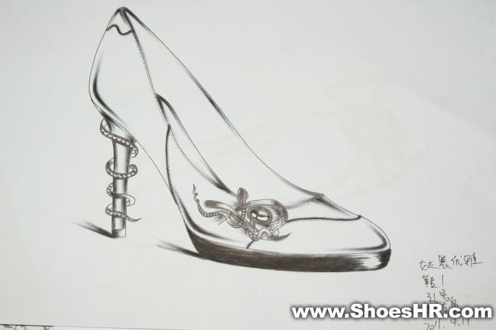 手稿,溺爱shoes--中国鞋业设计师网图片