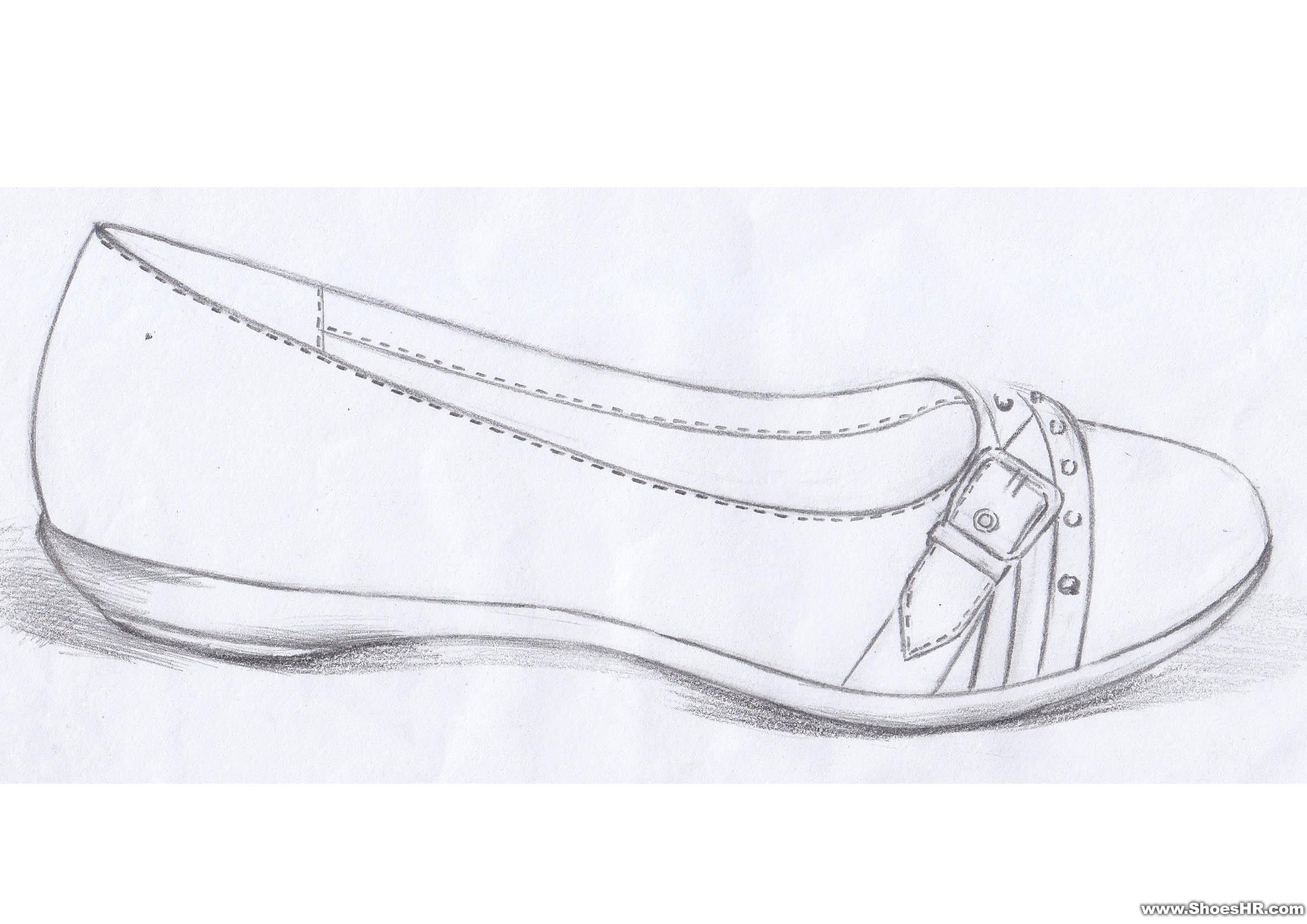 女鞋手稿,雷维--中国鞋业设计师网图片