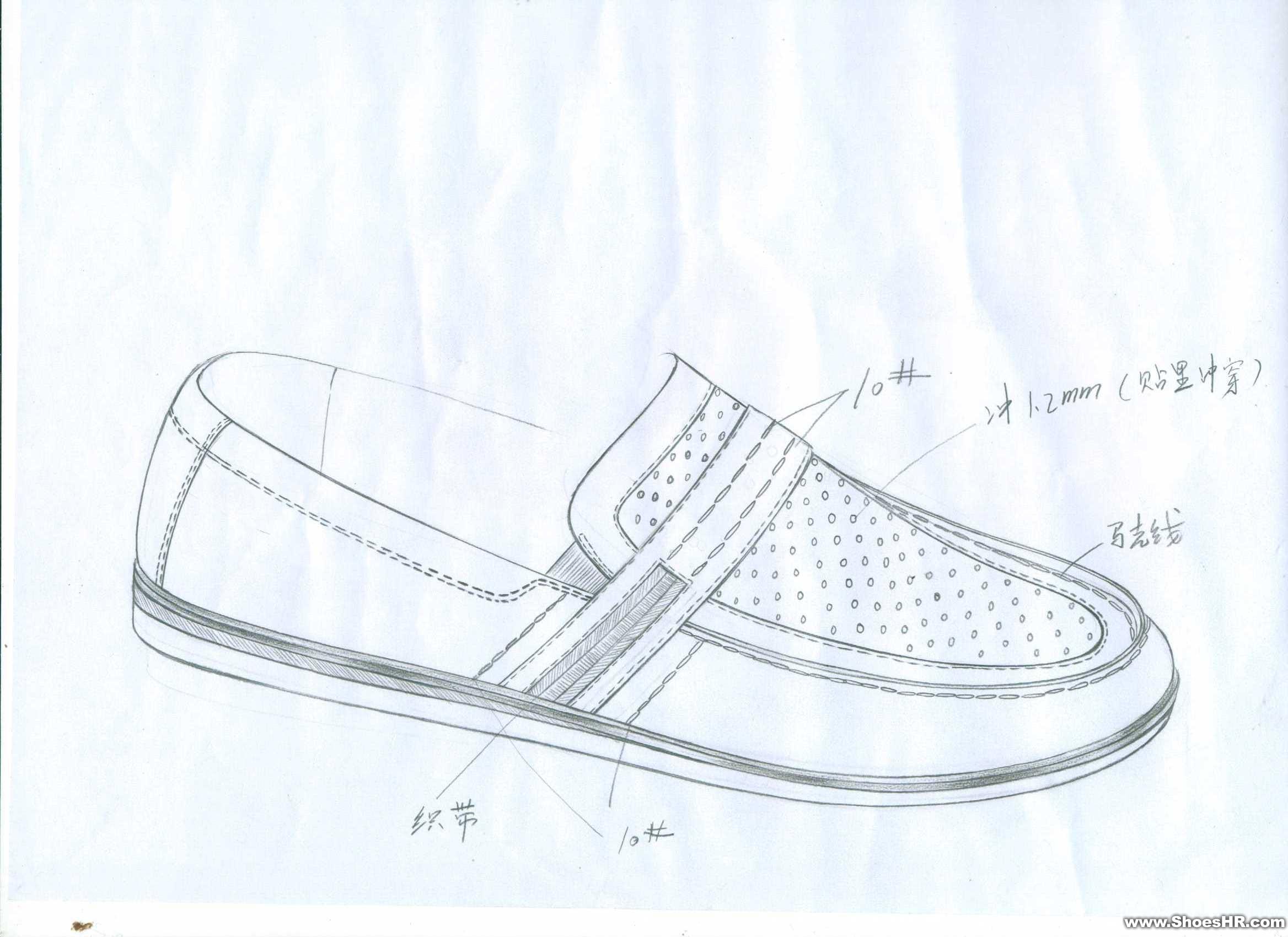 手稿,曾水泉--中国鞋业设计师网图片